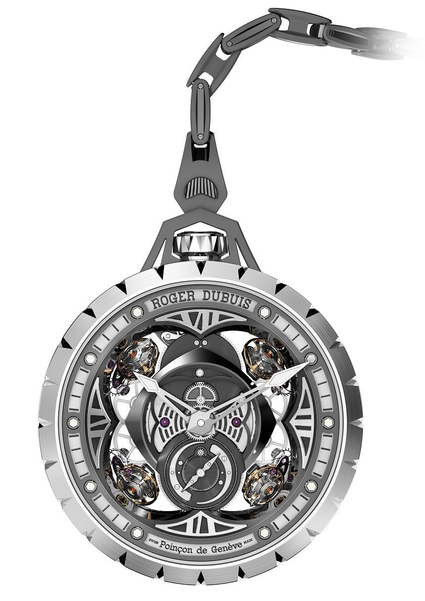 Roger Dubuis Excalibur Spider Pocket Time Instrument Watch