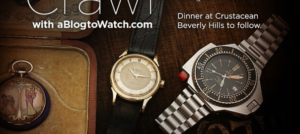 aBlogtoWatch EVENT: Celebrate Modern & Vintage Omega Watches In Los Angeles December 20, 2014 Shows & Events