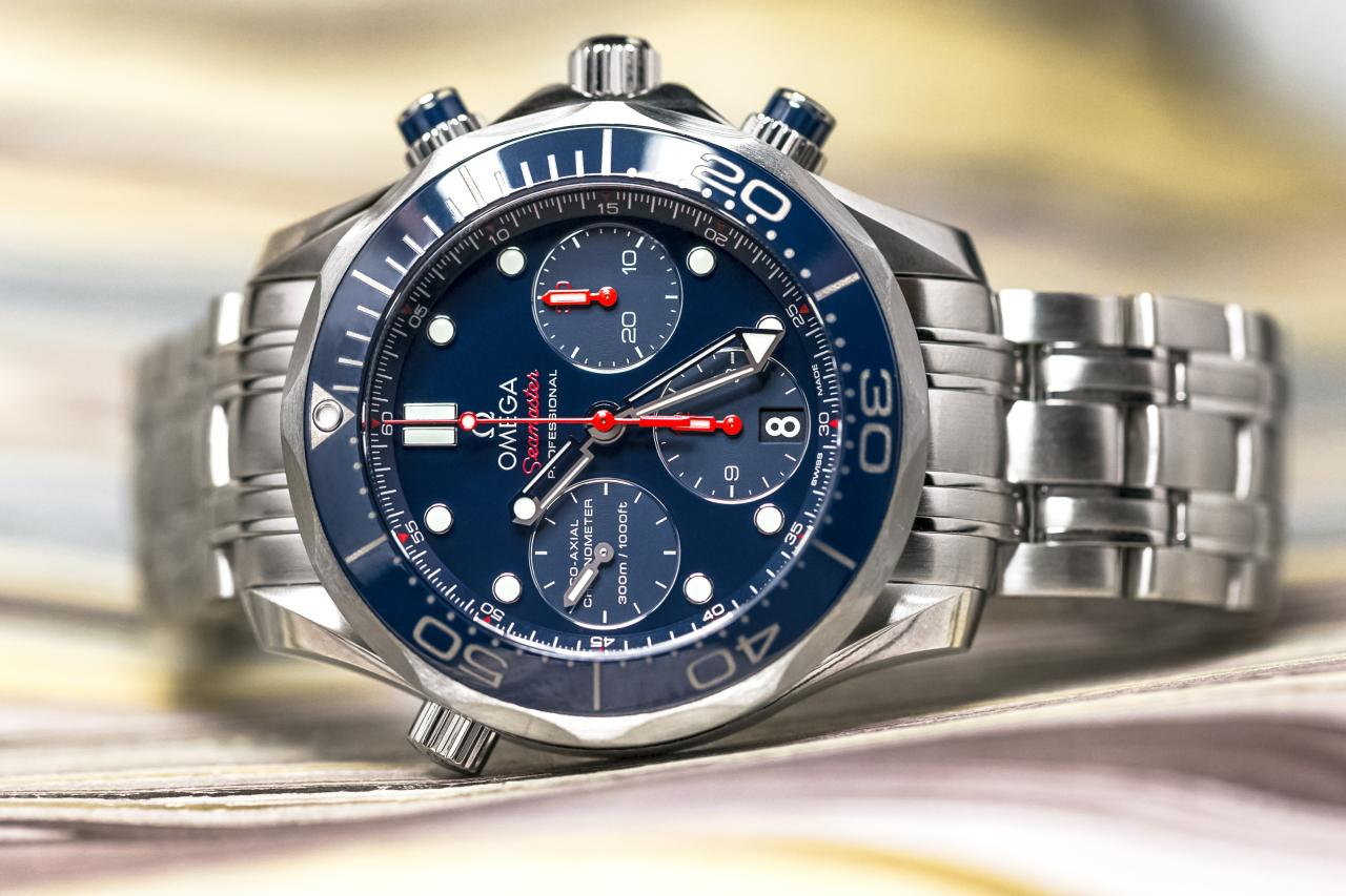Pre-Owned Omega Seamaster Chronograph 212.30.42.50.03.001 - for sale - Perpetuelle
