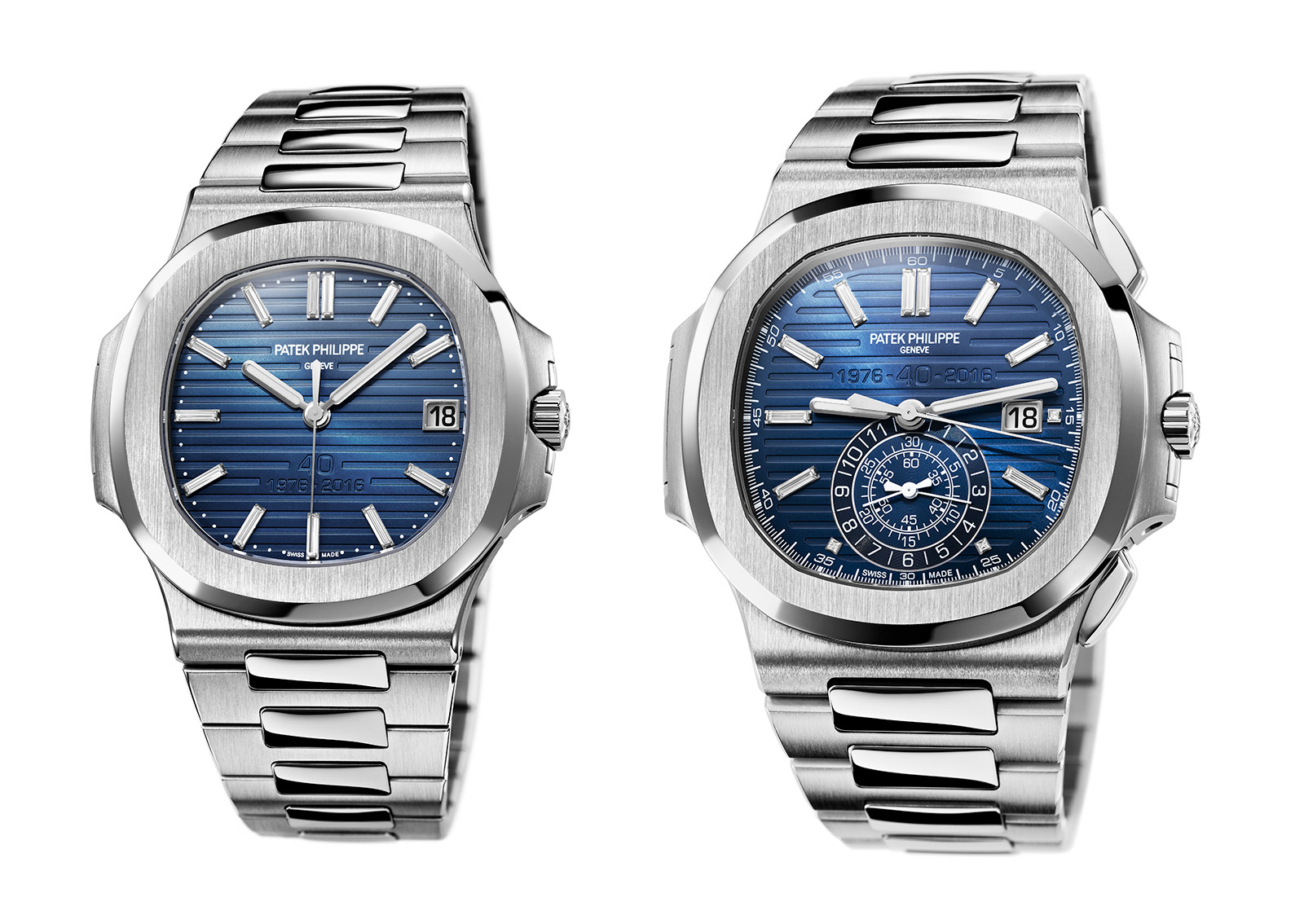 bbe64816383 Patek Philippe Nautilus Replica Refs. 5711 1P and 5976 1G